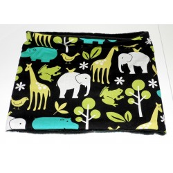 "Echarpe snood enfant ""au zoo"""