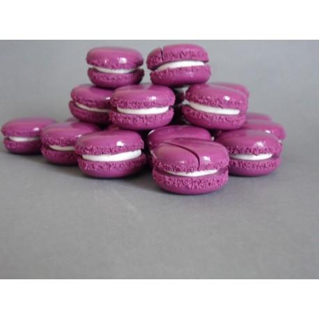 Marque-place macaron violet