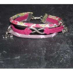 """Bracelet liberty """" Je t'aime à l'infini """""""
