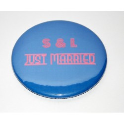 Magnet rond 50 mm personnalisable