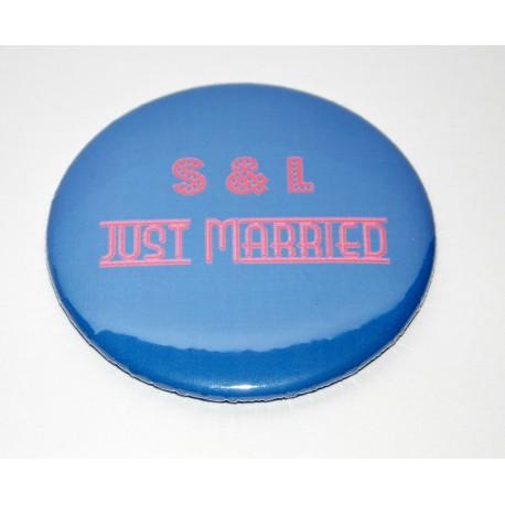 Magnet rond 50 mm à personnalisable