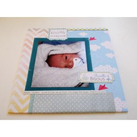 Livre album de naissance personnalisé