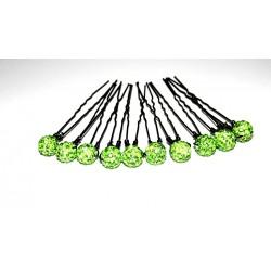 épingles à cheveux perles pour mariée x10