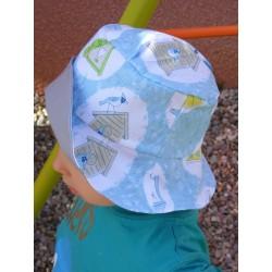 """Bob pour enfant """"les zozios """" chapeau été"""
